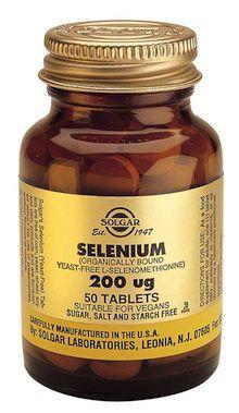 Solgar Selenio 200 microgramos 50 comprimidos
