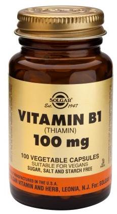 Solgar Vitamina B1 100 mg 100 cápsulas