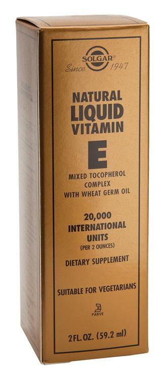 Solgar Vitamina E líquida 59,2 ml