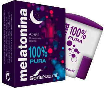 Soria Natural Melatonina 90 comprimidos