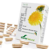 Soria Natural 14-S Diente de León 60 cápsulas
