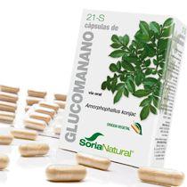 Soria Natural 21-S Glucomanano 60 cápsulas