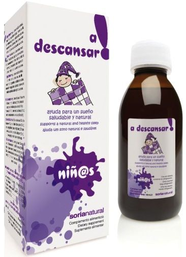 Soria Natural A Descansar jarabe infantil 150ml