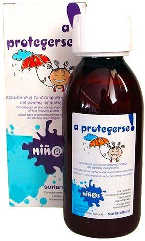 Soria Natural A Protegerse jarabe infantil 150ml