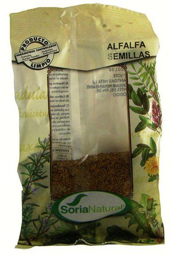 Soria Natural Alfalfa Semillas Bolsa 100g