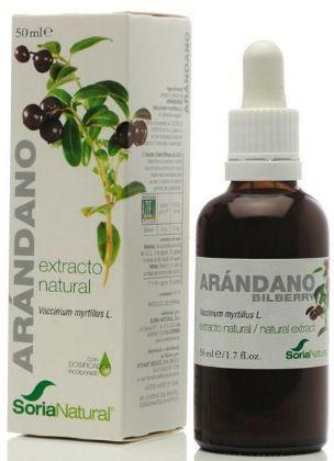 Soria Natural Arándano Extracto 50ml