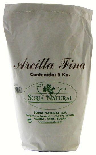 Soria Natural Arcilla Fina 5Kg