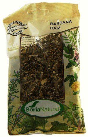 Soria Natural Bardana Raíz Bolsa 50g