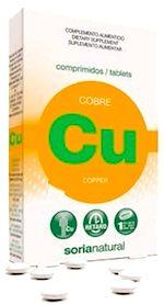 Soria Natural Cobre Retard 24 comprimidos