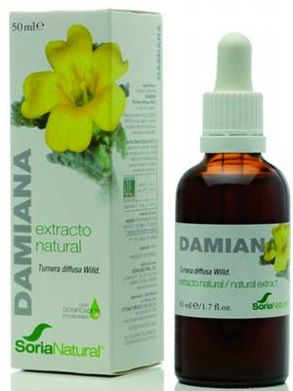 Soria Natural Damiana Extracto 50ml