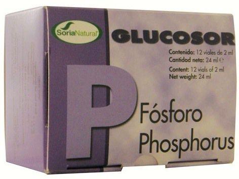 Soria Natural Glucosor Fósforo 12 viales