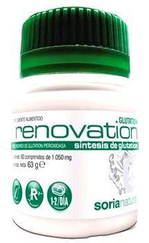Soria Natural Glutation Renovation 60 comprimidos