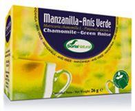 Soria Natural Manzanilla con Anís Infusión 20 bolsitas