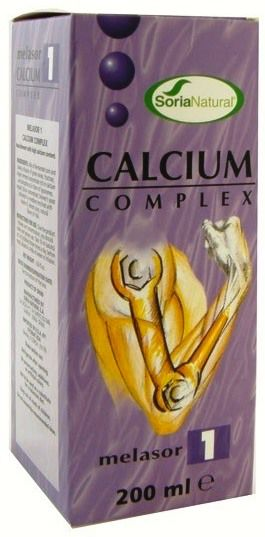 Soria Natural Melasor 01 Calcium Complex 200ml