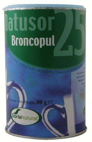 Soria Natural Natusor 25 Broncopul 80g