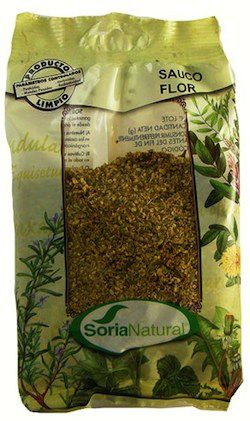 Soria Natural Saúco Flor Bolsa 40g
