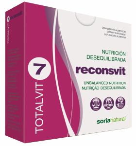 Soria Natural Totalvit 07 Reconsvit 28 comprimidos