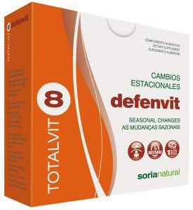 Soria Natural Totalvit 08 Defenvit 28 comprimidos
