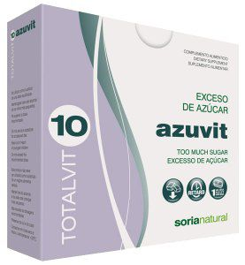 Soria Natural Totalvit 10 Azuvit 28 comprimidos