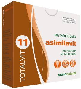 Soria Natural Totalvit 11 Asimilavit 28 comprimidos