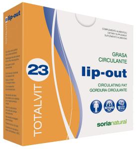 Soria Natural Totalvit 23 Lip-Out 28 comprimidos