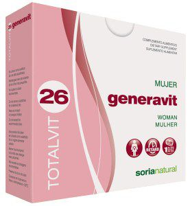 Soria Natural Totalvit 26 Generavit comprimidos