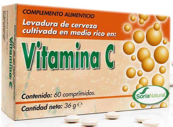 Soria Natural Vitamina C 36 comprimidos