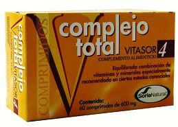 Soria Natural Vitasor 04 Complejo Total 60 comprimidos