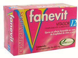 Soria Natural Vitasor 12 Fanevit 60 comprimidos