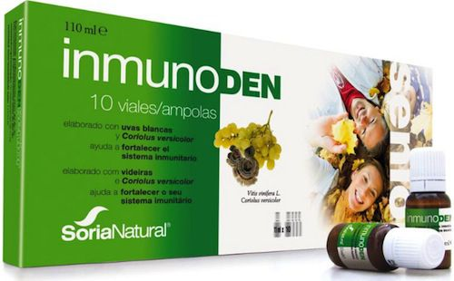 Soria Natural Inmunoden Senior 10 viales