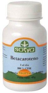 Sotya Betacaroteno 90 cápsulas