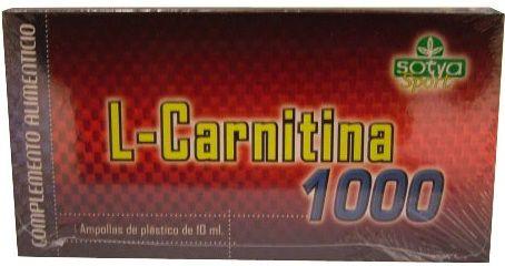 Sotya L-Carnitina 1000mg 20 viales