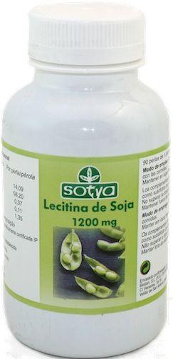 Sotya Lecitina 1200mg 200 perlas