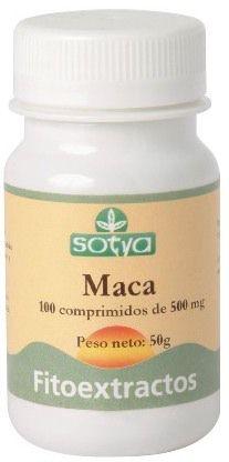 Sotya Maca 500mg 100 comprimidos