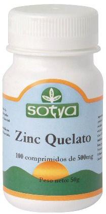 Sotya Quelato de Zinc 100 comprimidos