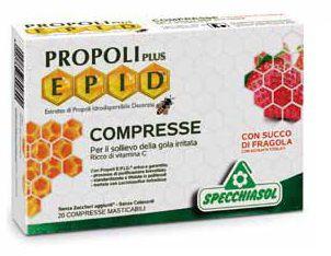 Specchiasol Epid Propoli plus Fresa 20 comprimidos