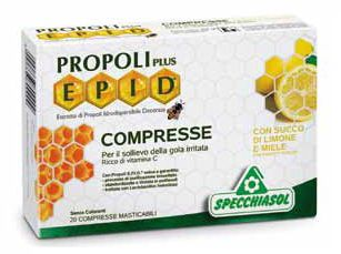 Specchiasol Epid Propoli plus Miel-Limón 20 comprimidos