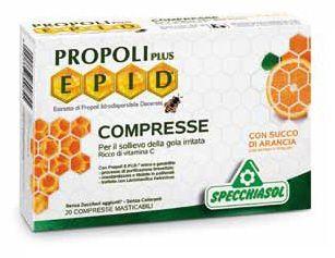 Specchiasol Epid Propoli plus Naranja 20 comprimidos
