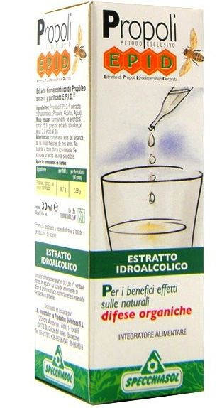 Specchiasol Epid Propolis Extracto Hidroalcoholico 30ml