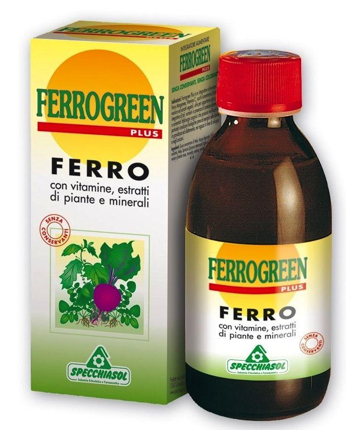 Specchiasol Ferrogreen jarabe 170ml