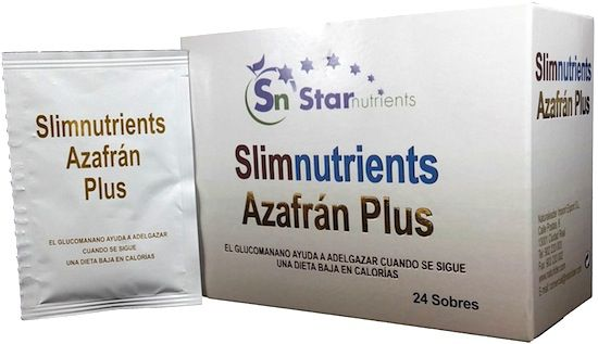 Slimnutrients Azafrán Plus 24 sobres