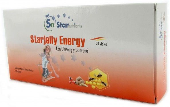StarNutrients Starjelly Energy 1000mg 20 ampollas