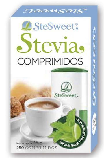 SteSweet Stevia Bio 250 comprimidos