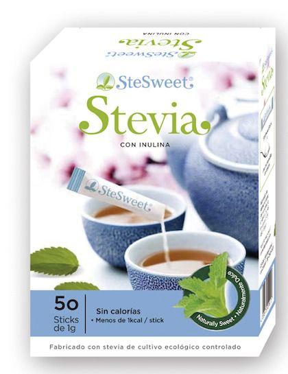 SteSweet Stevia con Inulina 50 sticks