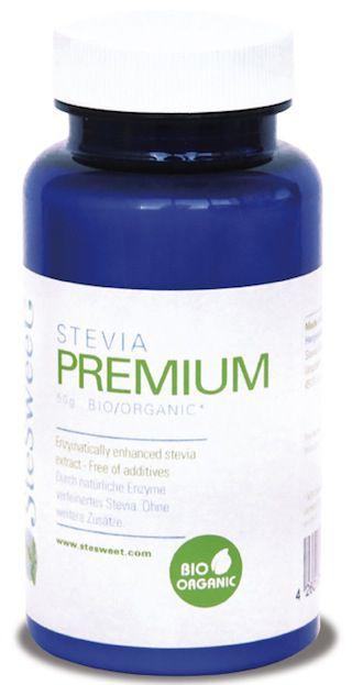 SteSweet Stevia Polvo Bio 50g