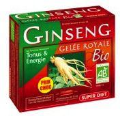 Super Diet Ginseng y Jalea Real Bio 20 ampollas