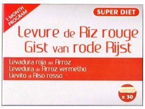 Super Diet Levadura Roja de Arroz 30 cápsulas