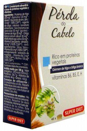 Super Diet Perla de Cabello 45 cápsulas