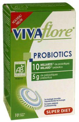 Super Diet Vivaflore Probiotics Bio 10 sobres