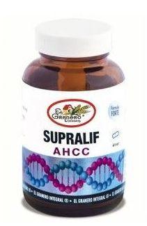 El Granero Integral Supralif AHCC - Shiitake 60 cápsulas
